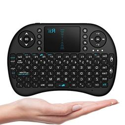Rii 10038-RUPA i8 Mini 2.4GHz Wireless Touchpad Keyboard wit