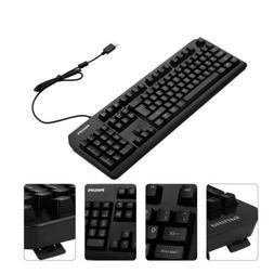 104 Keys USB Wired Gaming Keyboard Mechanical for PC Mac Lap