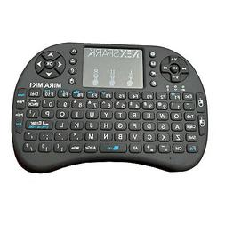 2.4G Handheld Mini Wireless Keyboard w Touchpad for Smart TV