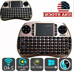 2.4G Mini Wireless Keyboard With Touch-pad Mouse For Android