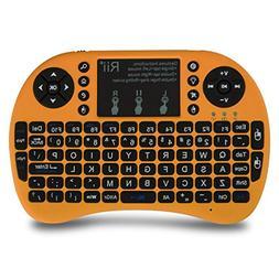 Rii 30030335 i8+ Mini Wireless 2.4G Backlight Touchpad Keybo