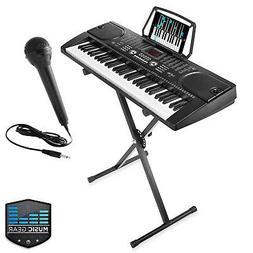 61-Key Digital Music Piano Keyboard - Portable Electronic Mu