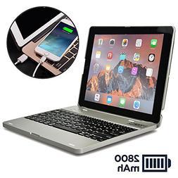 COOPER KAI SKEL P1 Keyboard case compatible with iPad 4, iPa
