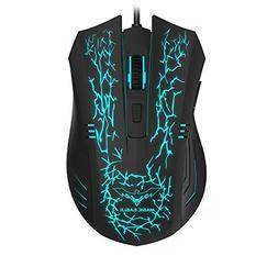 HAVIT HV-MS672 3200DPI Wired Mouse, 4 Adjustable DPI Levels,