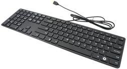 I-Rocks Black Aluminum X-Slim Keyboard for PC
