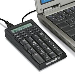 Kensington Notebook Keypad/Calculator with USB Hub, 19-Key P