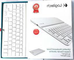 Logitech Ultrathin Keyboard Cover for iPad 5, White