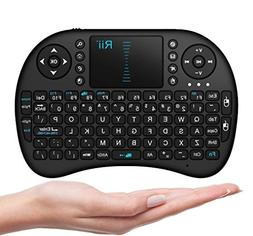 Rii 2.4GHz Keyboard I8 Air Mouse Remote Control Touchpad For