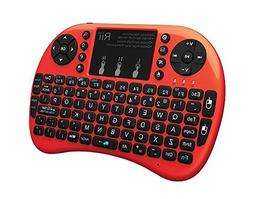 Rii i8+ Mini Wireless 2.4G Backlight Touchpad Keyboard with