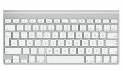 Apple A1314 Bluetooth Wireless Silver Slim Mini Keyboard lap