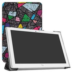 Acer Iconia One 10 B3-A40 / A3-A40 Slim Shell Case,Mama Mout