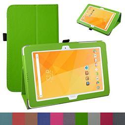 Acer Iconia One 10 B3-A20 Case,Mama Mouth PU Leather Folio 2