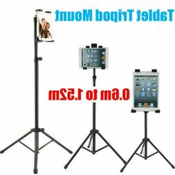 Adjustable Tripod Stand Holder Bracket Floor Mount For iPad