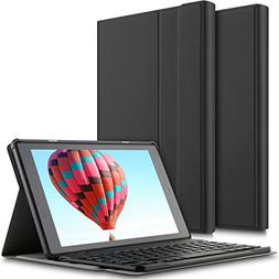 IVSO All-New Fire HD 10 Tablet Case with Keyboard, Ultra-Thi