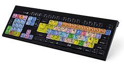 LogicKeyboard Astra Series Logic Pro X Mac Wired Backlit Ame