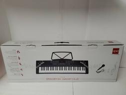 BCP 61-Key Beginner Keyboard Piano Set w/ 3 Teaching Modes,
