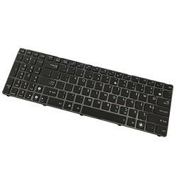 Generic New Black Laptop US Keyboard for Asus N73 N73JN N73J