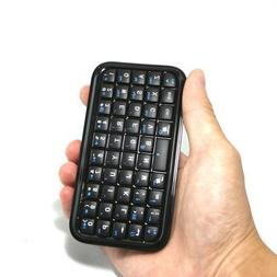 Black Mini Bluetooth Wireless Keyboard for iPhone 4, iPad, i