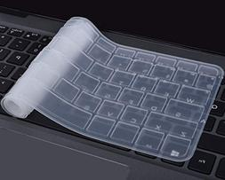 NEW Clear Keyboard Silicone Cover for HP 15.6 Laptop Dust Sp