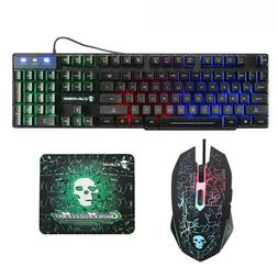 Computer Mouse Gaming keyboard Cracked Decorative Pattern Ke