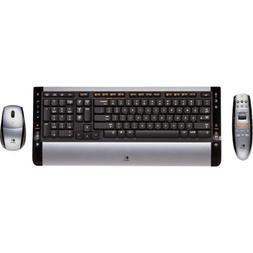 Logitech Cordless Desktop S 510 Media Remote - Keyboard - Wi