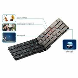 Foldable Rii mini K09 bluetooth keyboard for ipad Tablet PC