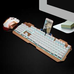 Gamer Ergonomic Multimedia Color LED Backlit Wired USB Gamin