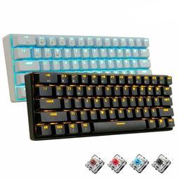 Gaming Keyboard 61 Keys Bluetooth Wireless LED Backlit Ergon