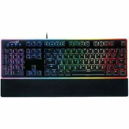 ROSEWILL Gaming Keyboard, RGB LED Backlit Wired Membrane Mec