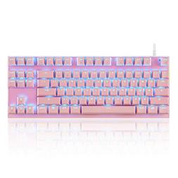 MOTOSPEED Professional Gaming Mechanical Keyboard RGB Rainbo