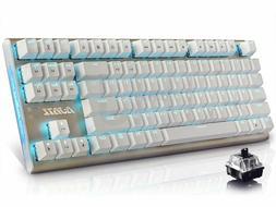 Ajazz Geek AK40 Black Backlit Mechanical Gaming Keyboard wit