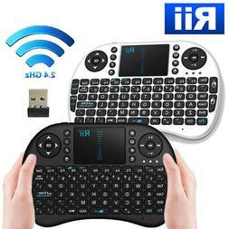 Genuine Rii i8 2.4Ghz Wireless Mini Keyboard TouchPad for Sm