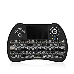 ACEMAX H9 2.4G Wireless Backlit Backlight Mini Keyboard Mous