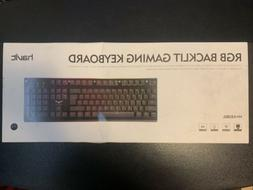 HAVIT HV-KB380L RGB LED Backlit Wired Gaming Keyboard