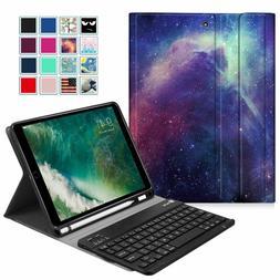 For 9.7'' iPad 6th / iPad 5th Bluetooth keyboard Case Cover