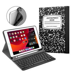 """For iPad 7th Gen 10.2"""" 2019 Bluetooth Keyboard Case Stand wi"""