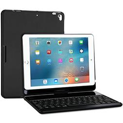 ProCase iPad 9.7 2018/2017 Keyboard Case - 360 Degree Rotati