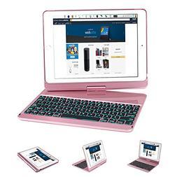 iPad Keyboard Case 9.7 , Earto 7 Color Backlit Keyboard Case
