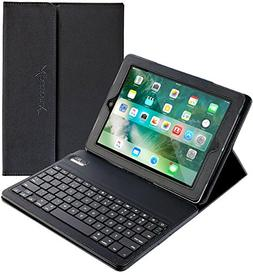 iPad Air/iPad Pro 9.7 Keyboard + Leather Case, Alpatronix KX