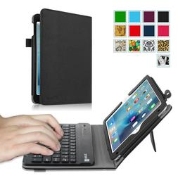 For iPad mini 4 Keyboard Case Stand Cover with Detachable Bl