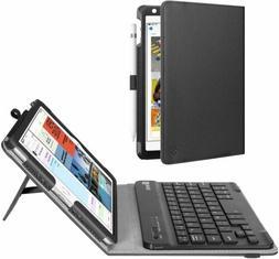 For iPad mini 5 4 3 2 1 Folio PU Case Stand Cover +Detachabl