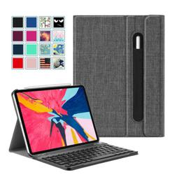 For iPad Pro 11 inch 2018 Case Slim Shell with Detachable Bl