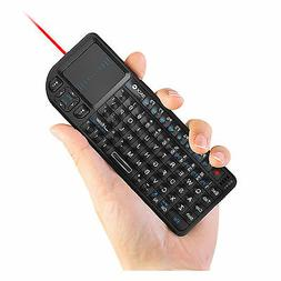Rii k01v3 mini wireless keyboard with backlit laser pointer