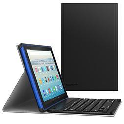 MoKo Keyboard Case for All Amazon Fire HD 10 Tablet  - Wirel