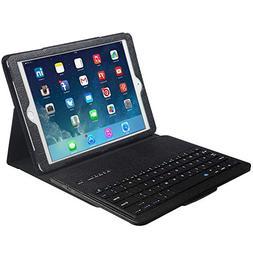 Eoso Keyboard Case for Apple iPad 3/4 Folding Leather Folio