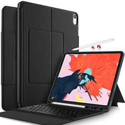 IVSO Keyboard Case for Apple iPad Pro 11 2018 Stand Cover Ca