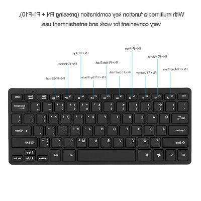 2.4GHz Wireless Keyboard Mouse Mice Combo Kit Set with USB Receiver PC