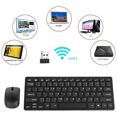 2.4GHz Wireless Mouse Mice Kit with USB Receiver For PC