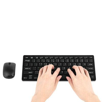 2 4ghz wireless keyboard mouse mice combo
