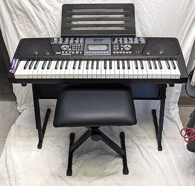 61 key electronic keyboard superkit rj 561
